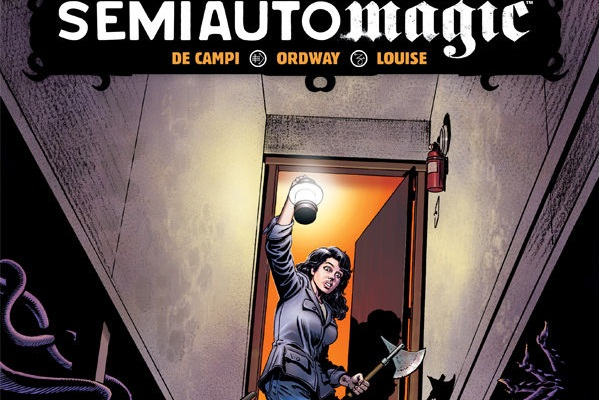 Cosmic Texts From Cthulhu - A Review of SemiAutomagic, Written by Alex de Campi, Illustrated by Jerry Ordway & Marissa Louise   Written by O'Brian Gunn