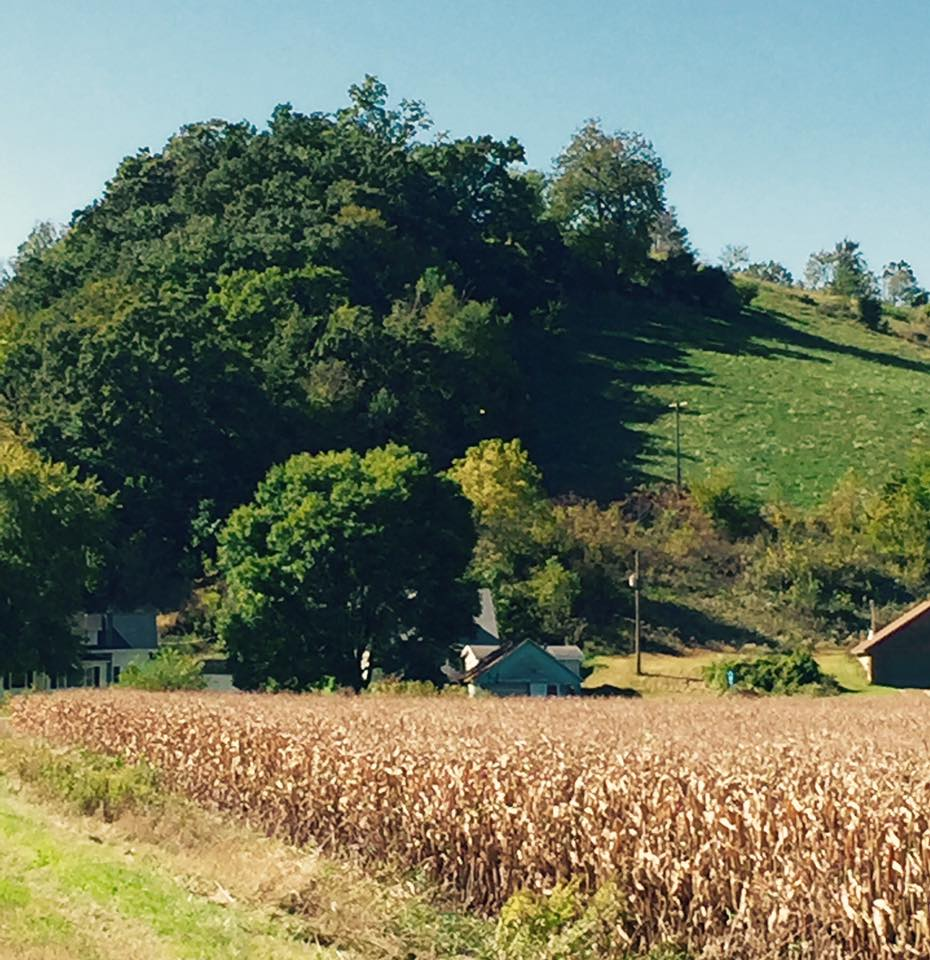 The hills had just begun.