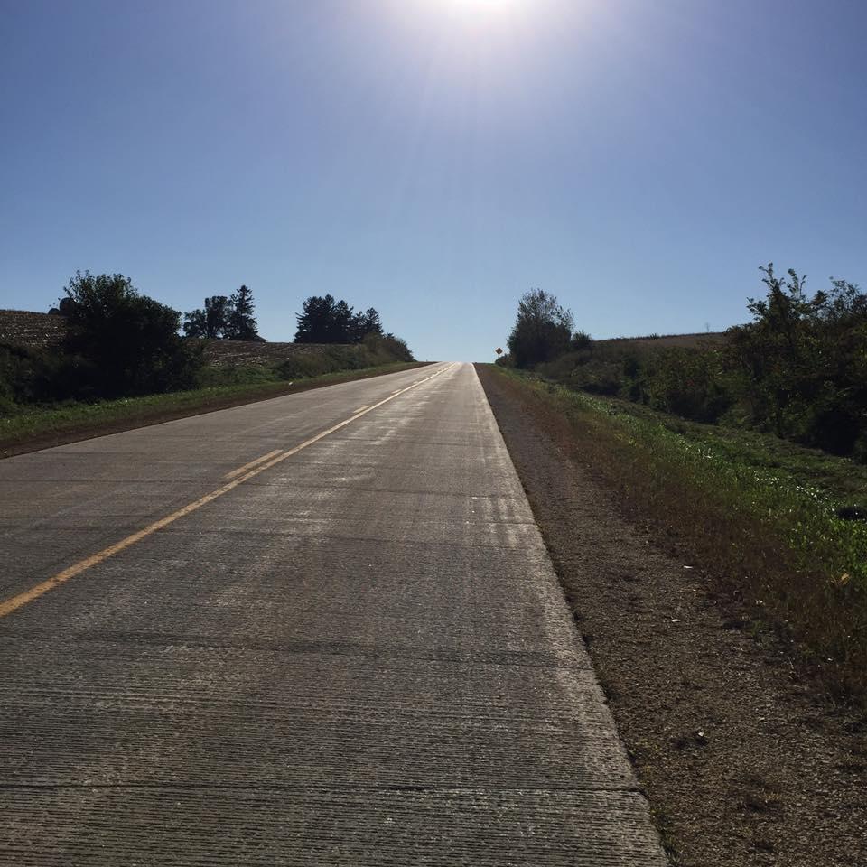 "The beginning of the ""Eastern Rockies"" of Iowa"