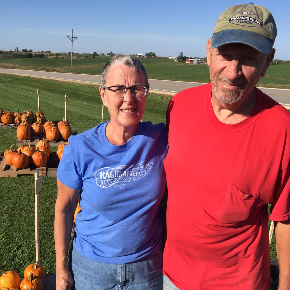 The kindness of the folks in Iowa was a reminder to me of one of the reasons I love my home state so much. Helen and Kenny came to my rescue as they loaded my bike and gear into their pick-up and saved me from 15 miles of impossible hills and fierce winds.