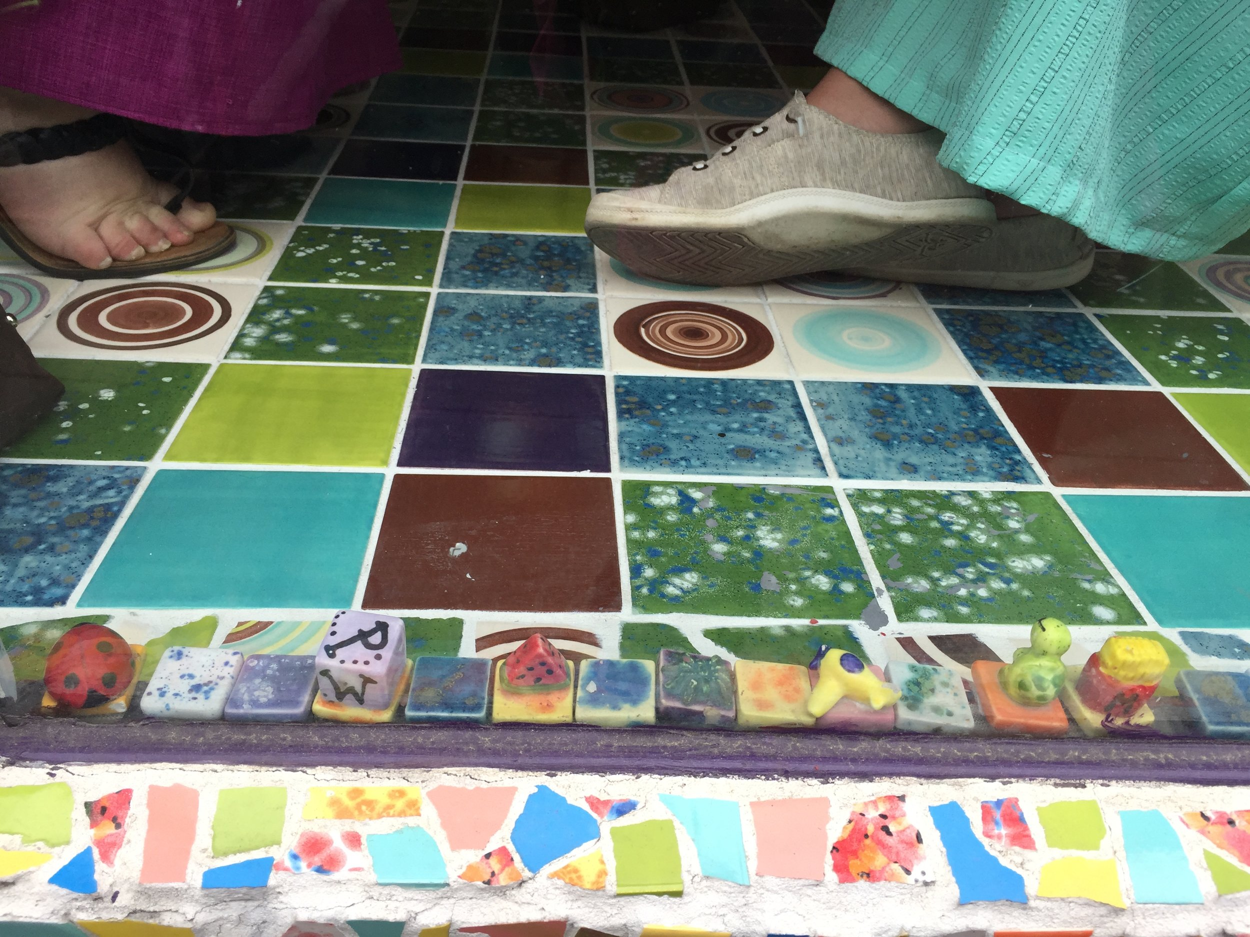 check out the tiny 3-d tiles