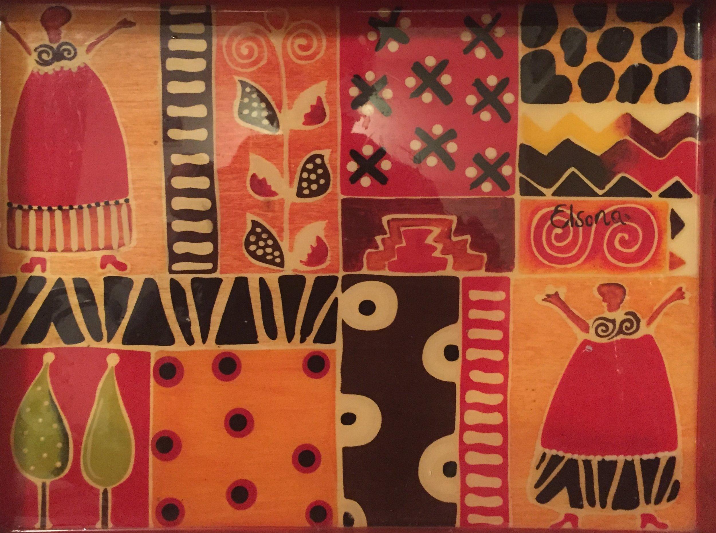 Art from Somalia.