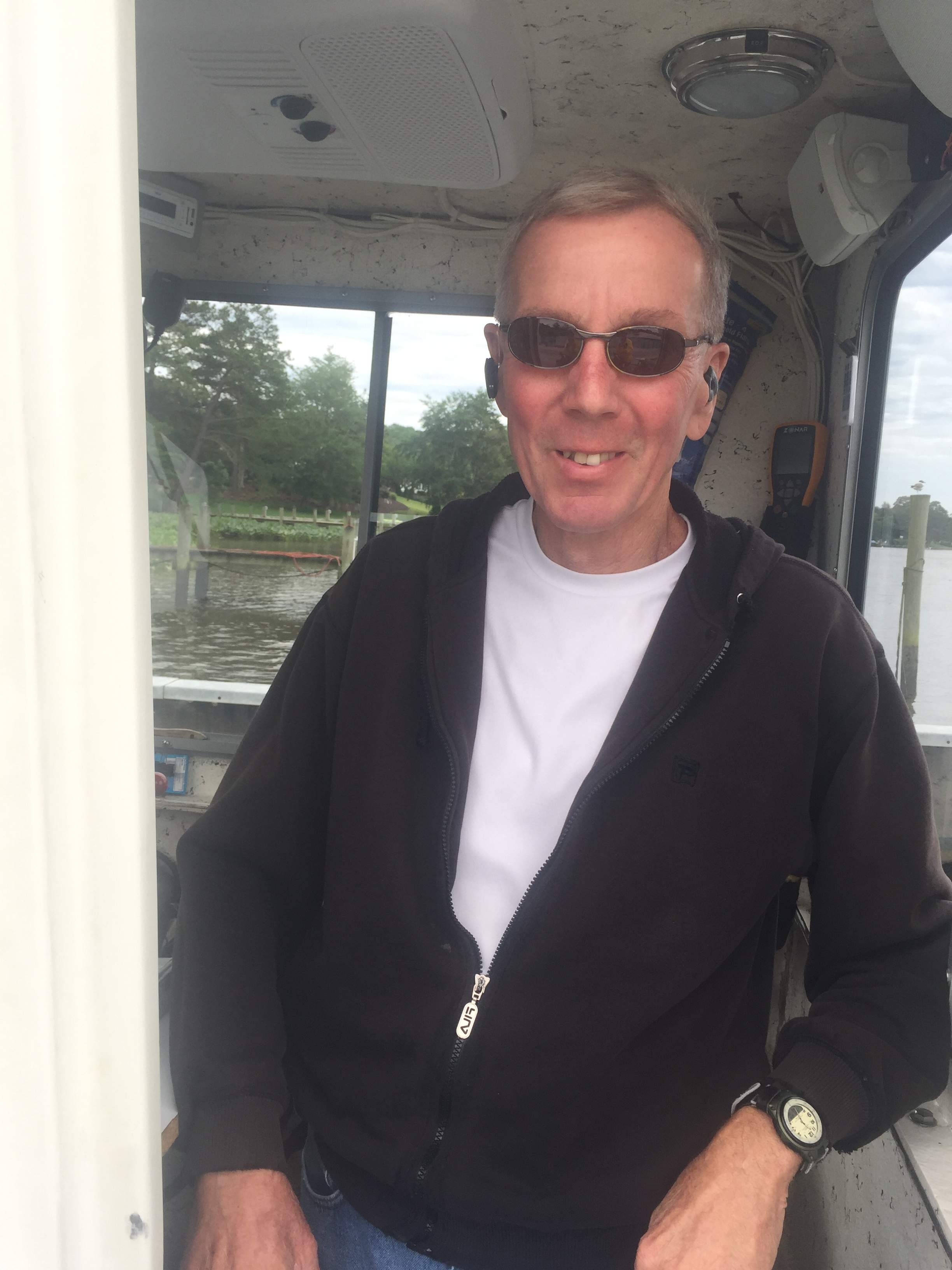 Louis Kennedy, ferry captain.