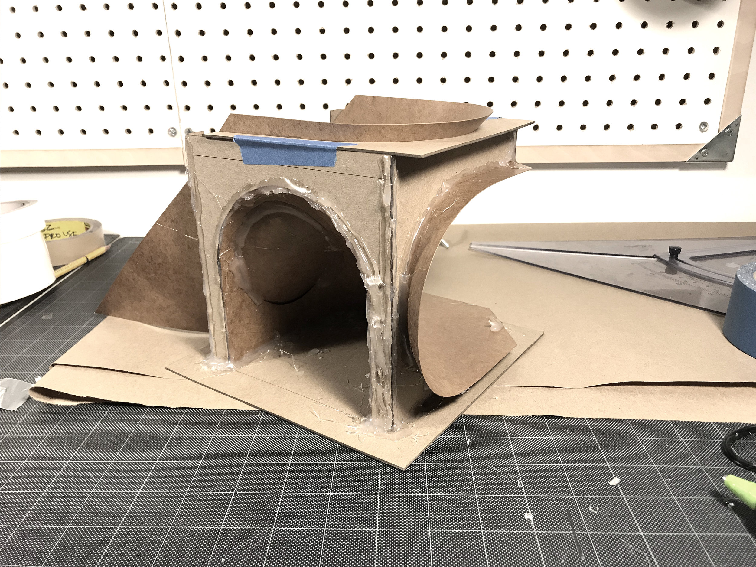 Christopher Taurasi Architecture Concrete Hollowed Cube_09.jpg