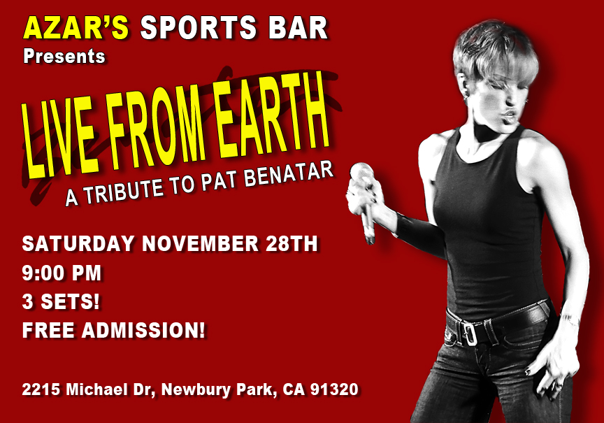 Live From Earth Benatar tribute Azars