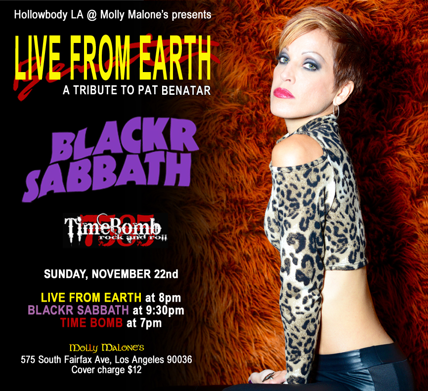Live From Earth Benatar tribute Molly Malones