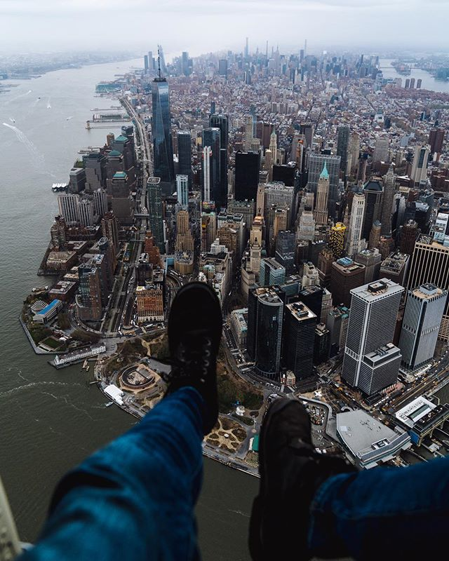 High-up hangs with @flynyon