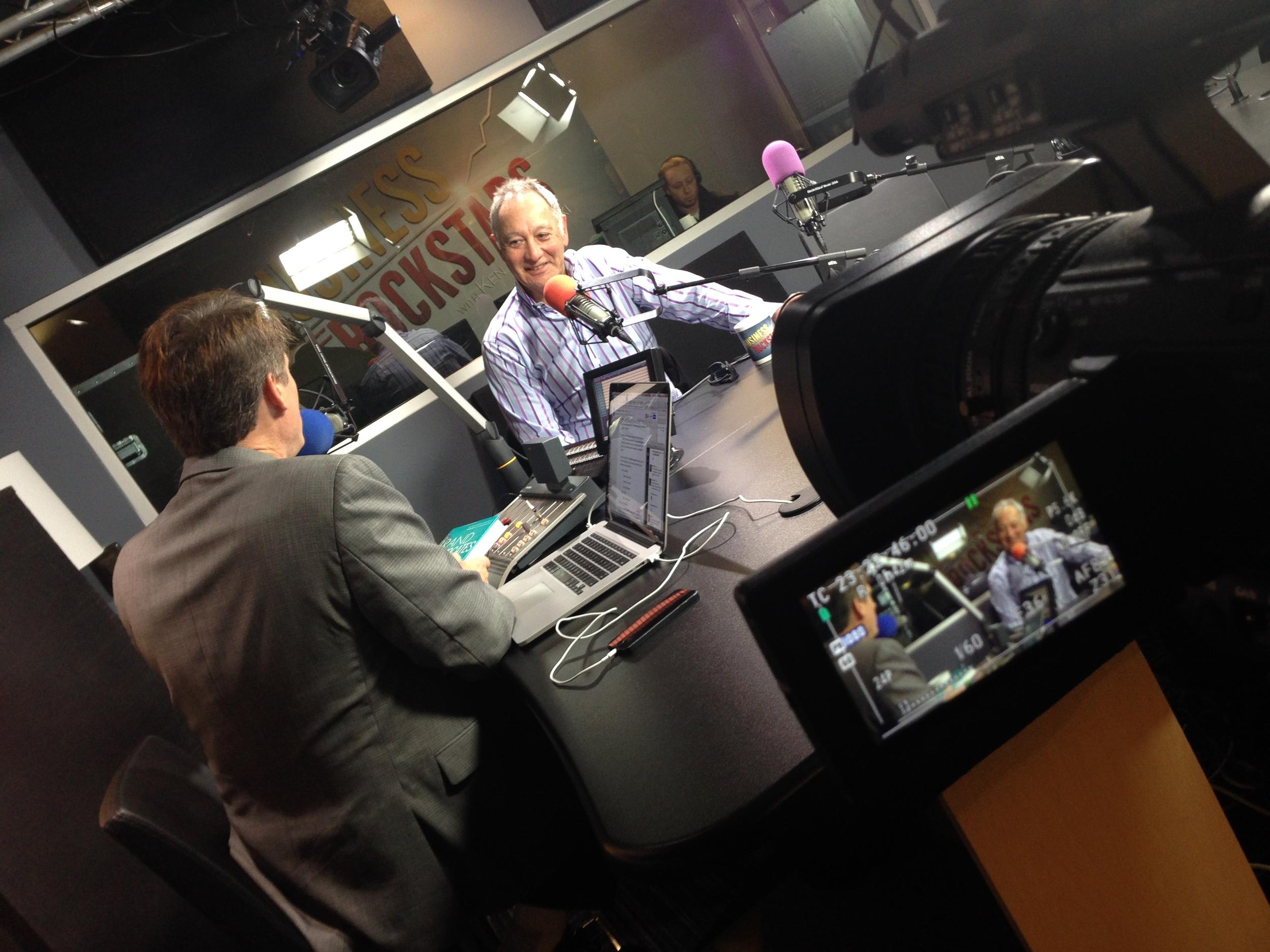 Rob on Radio Show