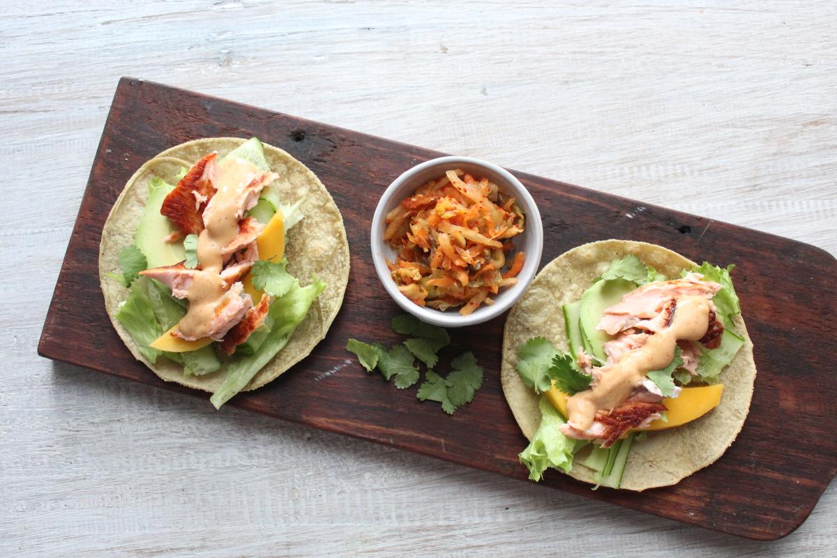 Salmon and Kim Chi Tacos000011.JPG