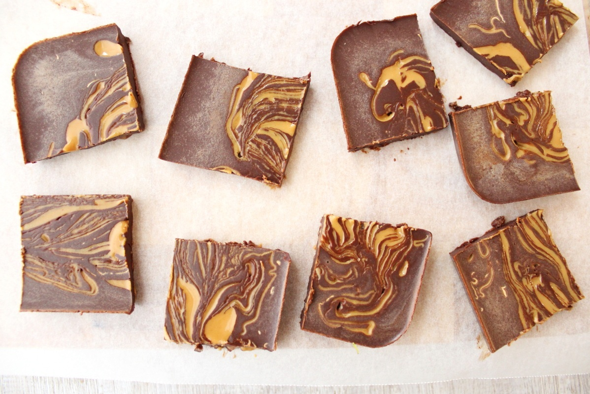 HOMEMADE PEANUT BUTTER CHOCOLATE