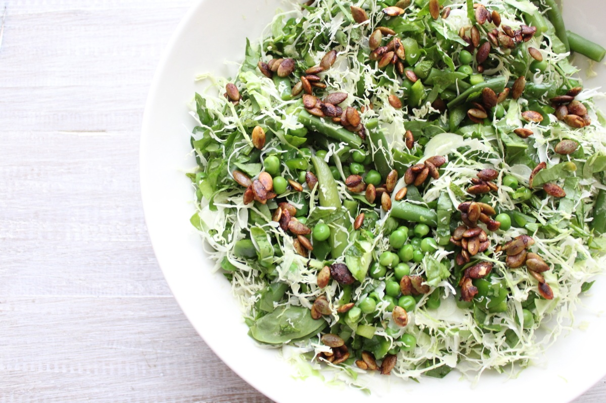 ALL THE GREENS SALAD