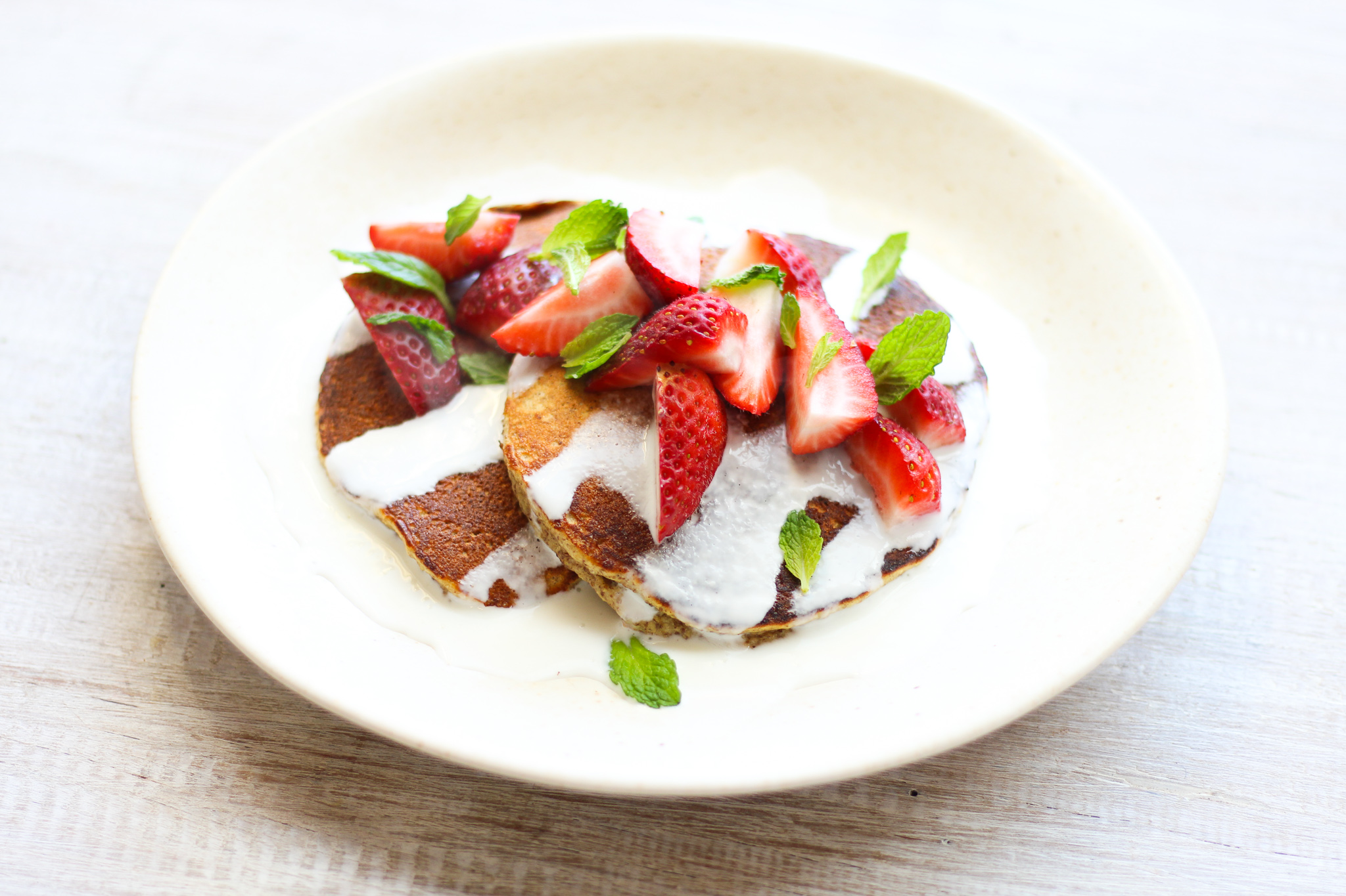 FIBRE & PROTEIN PACKED PANCAKES