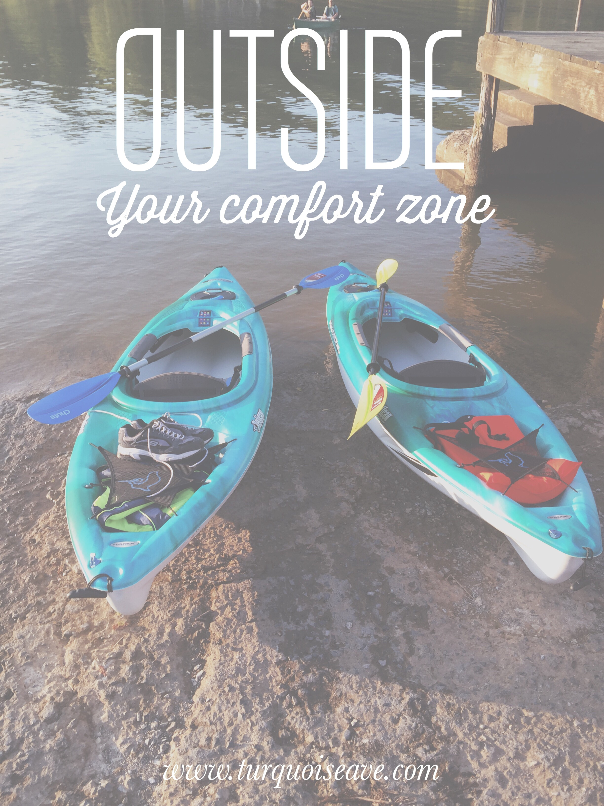 Try new things! Try things outside of your comfort zone - positive daily living tips from lifestyle blog Turquoise Avenue! www.turquoiseave.com