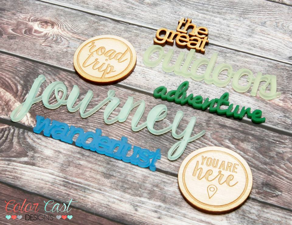 The Wanderlust Collection from Color Cast Designs