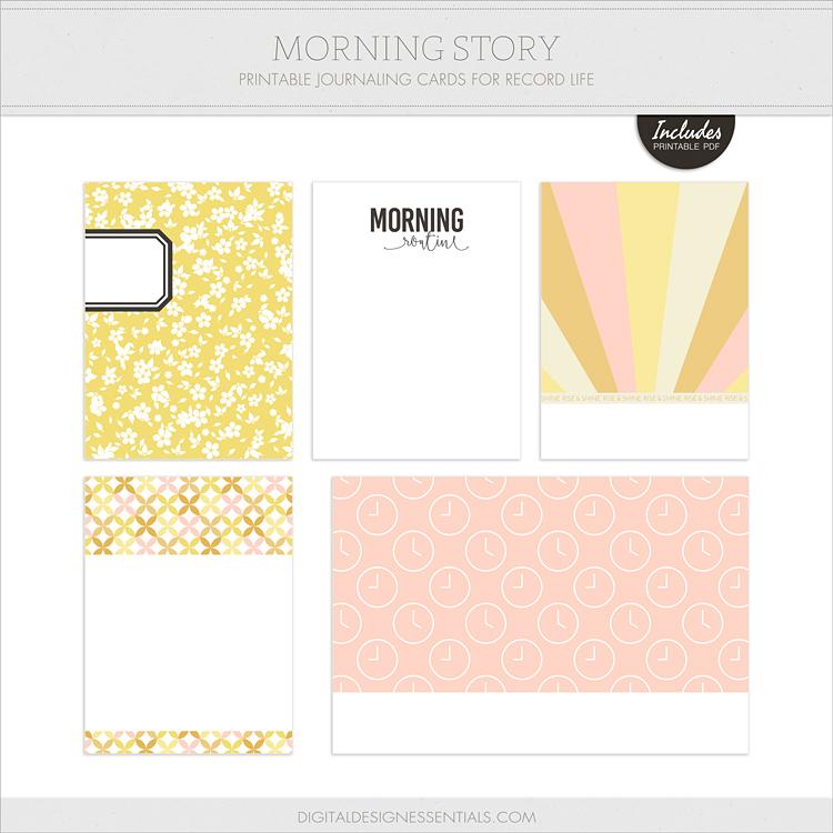 Free Journal Cards from Digital Design Essentials!