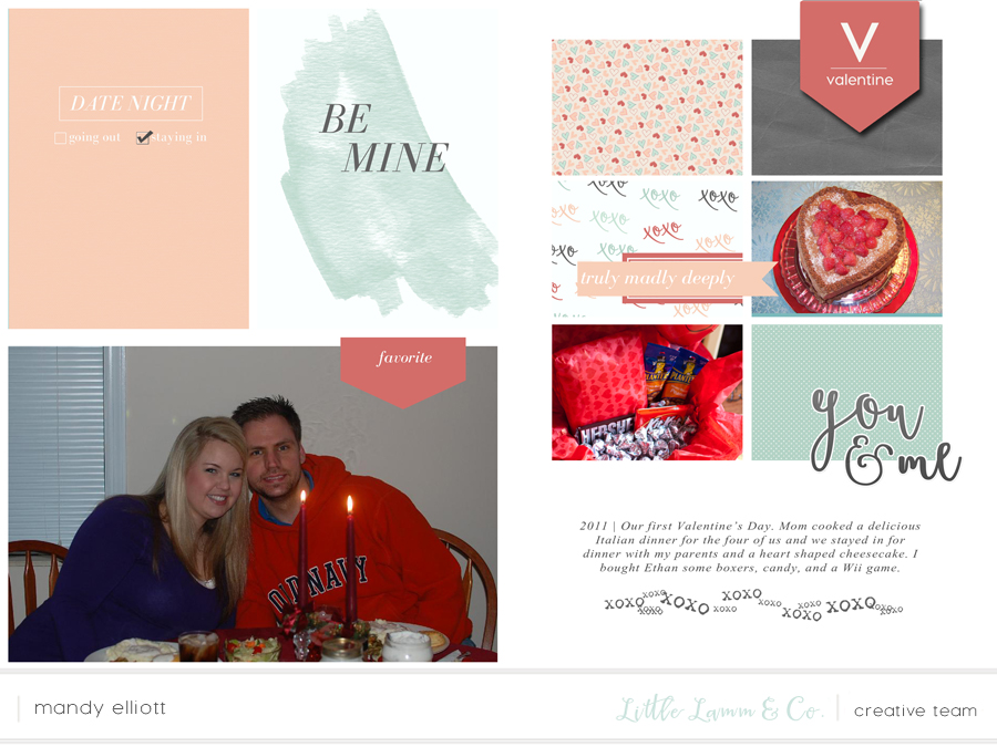 6x8 Digital Pocket Page Scrapbook Layouts feat. L'amore and Templates by Little Lamm & Co.  | Memory Keeping Monday by Turquoise Avenue