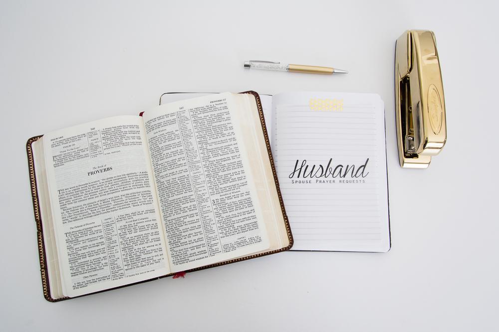 Christian, Digital Prayer Journal Cards plus a FREE Printable Scripture Card via Turquoise Avenue blog.