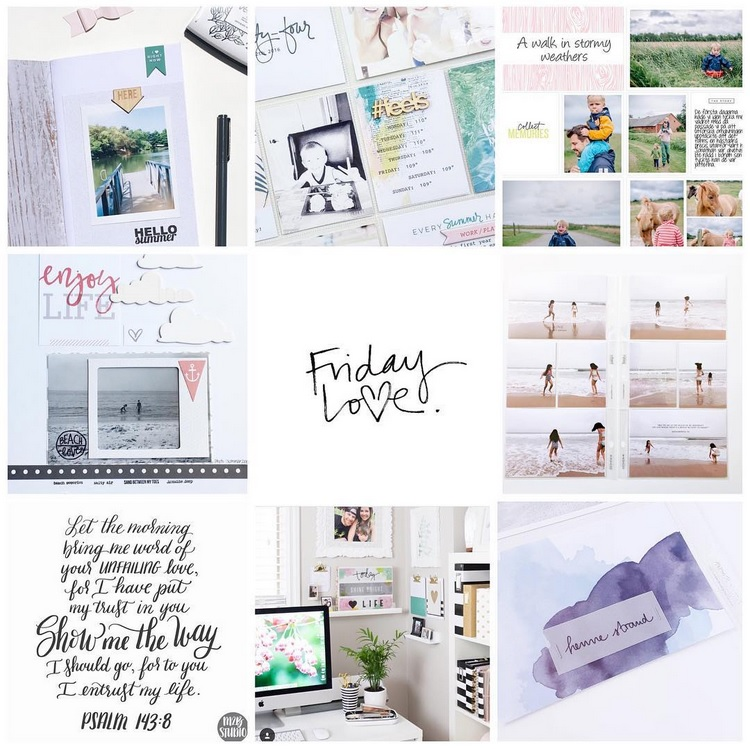 Accounts picture from left to right:  @kathrynquintana, @findingeverydayperfection, @creativecameia, @littlethingsbigday, @lyd_gibson, @liztamanaha, @m2bstudio, @lindsaydawnbateman, and @theurbandisplay