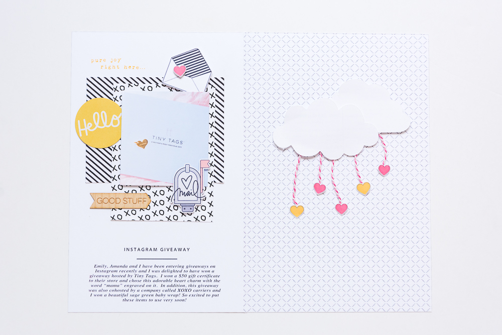 Adorable Traveler's Notebook Insert featuring designs by Peppermint Granberg of One Little Bird, created by Mandy Elliott of Turquoise Avenue.