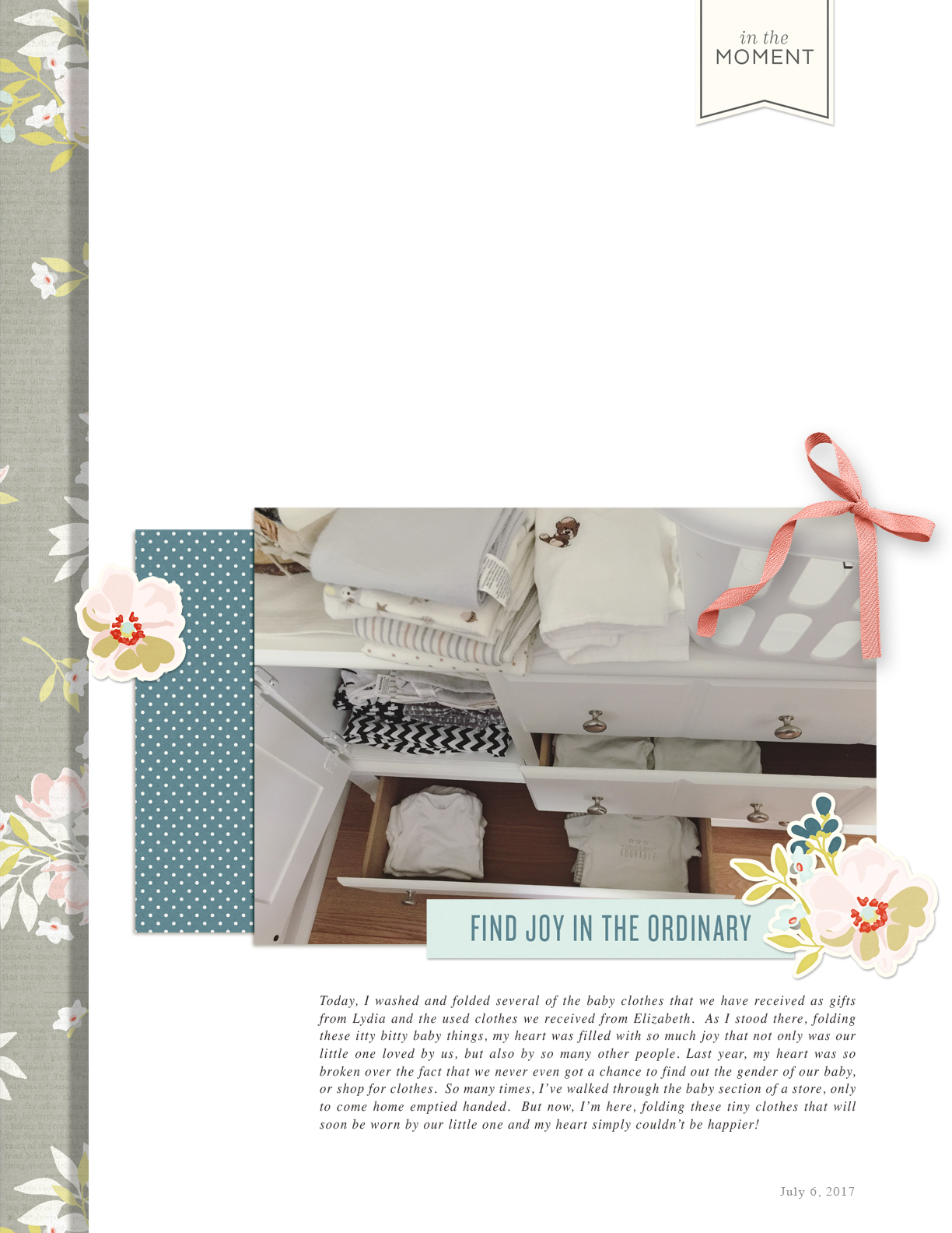 Products Used:   Elysian  collection by One Little Bird