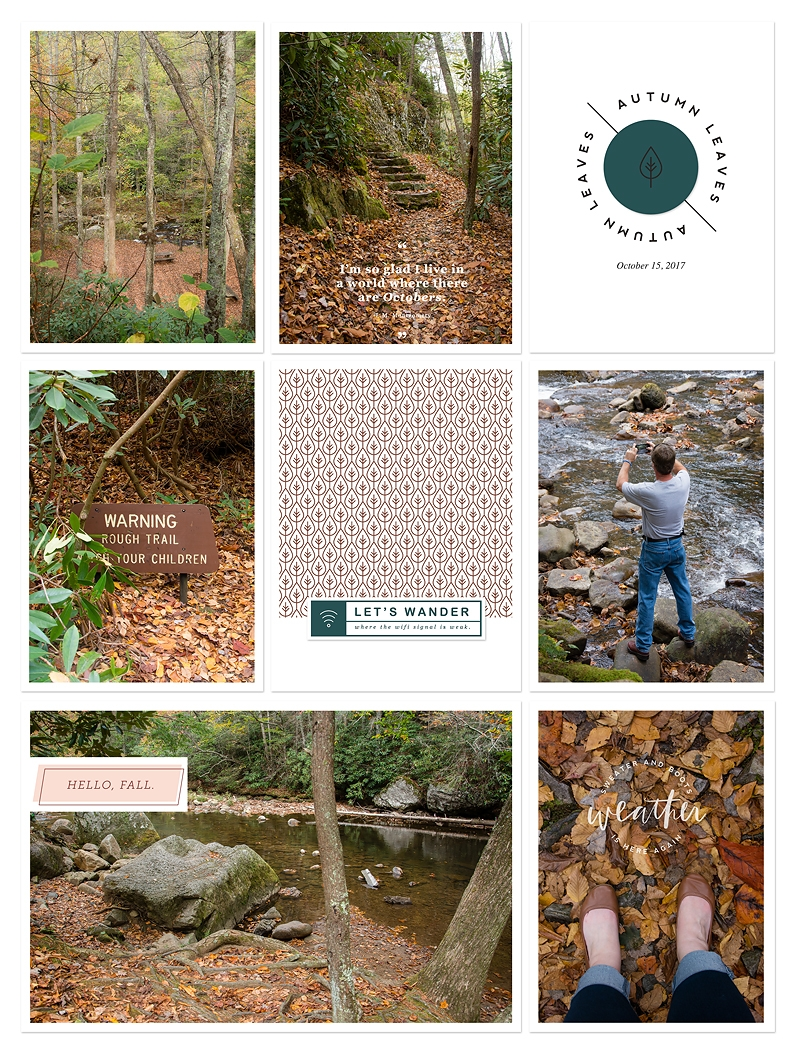 Introducing Fall Magic by Paislee Press | 9x12 Digital Pocket Scrapbook Page
