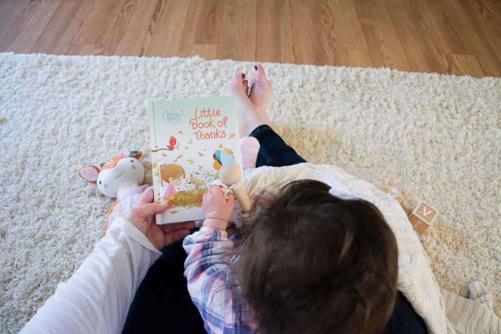 A Book Review of Little Book of Thanks by Jean Fischer, An Illustrated Precious Moments Children's Book of Gratitude