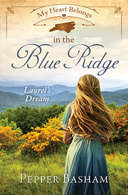 A ★★★★ Book Review of My Heart Belongs in the Blue Ridge: Laurel's Dream by Pepper Basham | A Christian, historical fiction novel