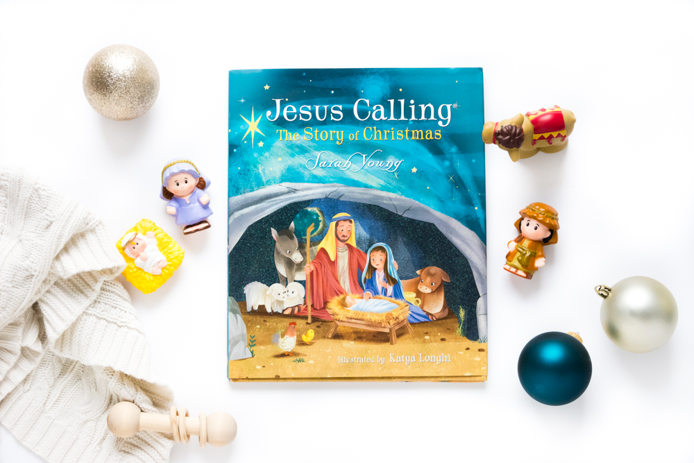 A Book Review of Jesus Calling: The Story of Christmas by Sarah Young, Illustrated by Katya Longhi  | A Children's Christmas Story and Picture Book