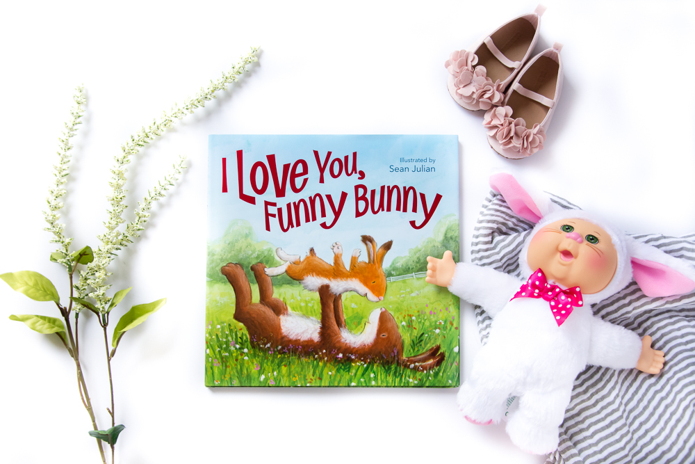 A Book Review of I Love You, Funny Bunny by Zonderkidz, Illustrated by Sean Julian  | A Children's Picture Book