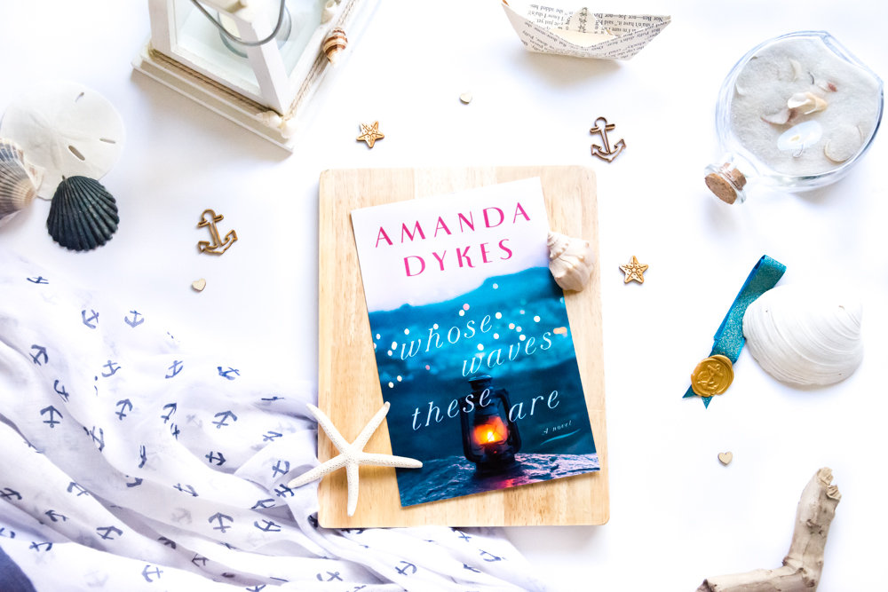 A ★★★★★ Book Review of Whose Waves These Are by Amanda Dykes, a Christian Fiction Novel
