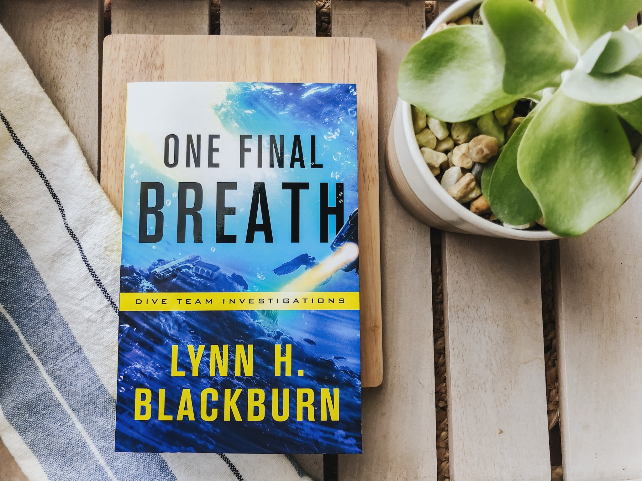 IMG_6344.jpgA ★★★★★ Book Review of One Final Breath by Lynn H. Blackburn in the Dive Team Investigations, Book Three | A Christian fiction romantic suspense novel