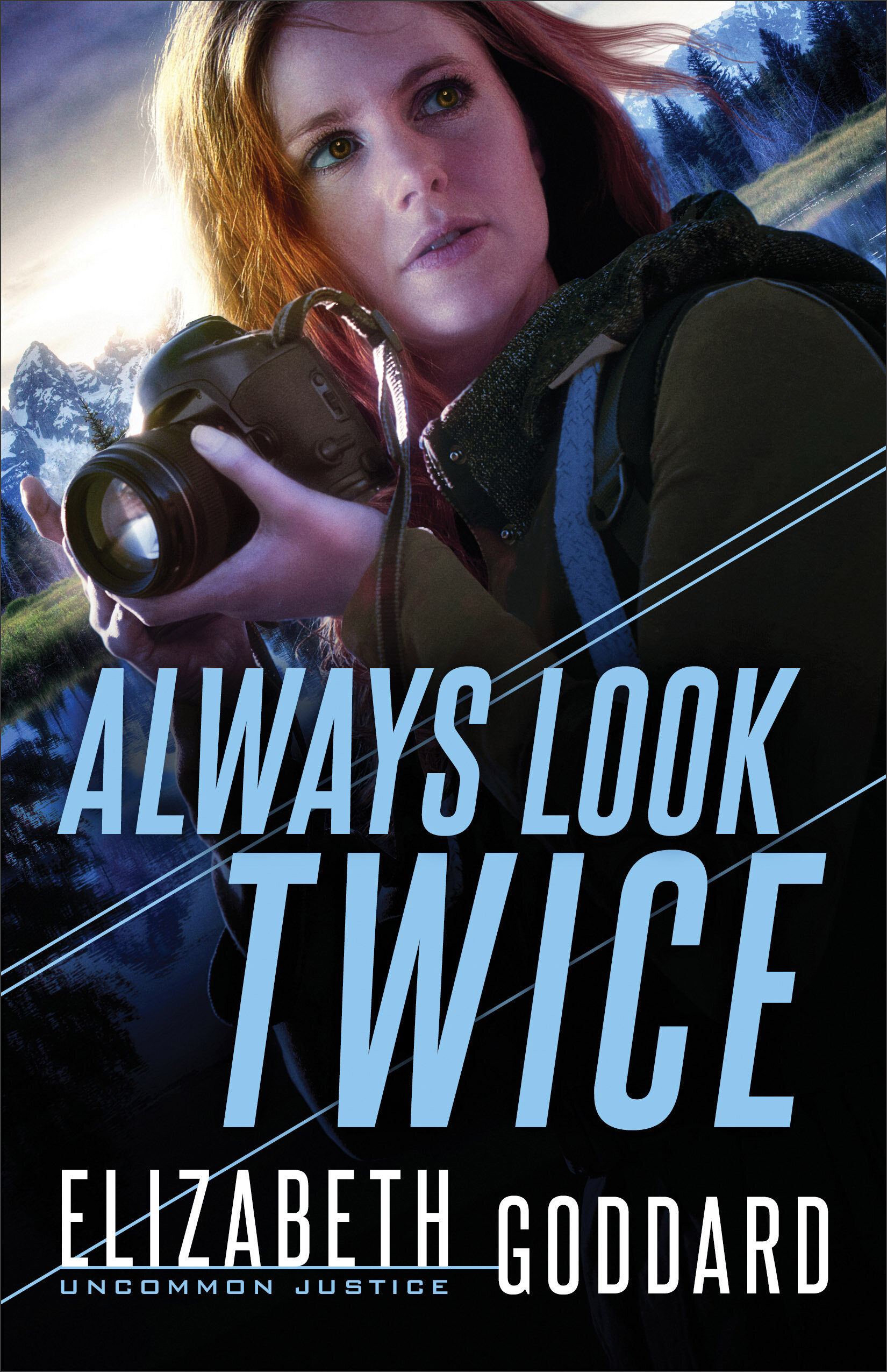 A Mini Review of Always Look Twice by Elizabeth Goddard, Book Two in the Uncommon Justice series  | A Christian Fiction Suspense Novel
