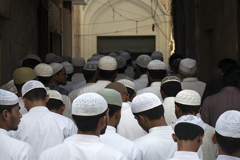 Muslim Parade.