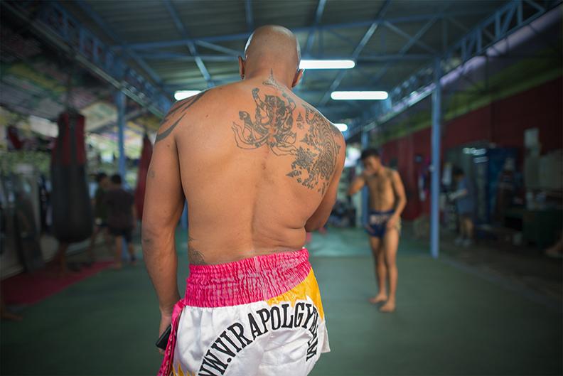 Muay Thai Fighter Back.jpg