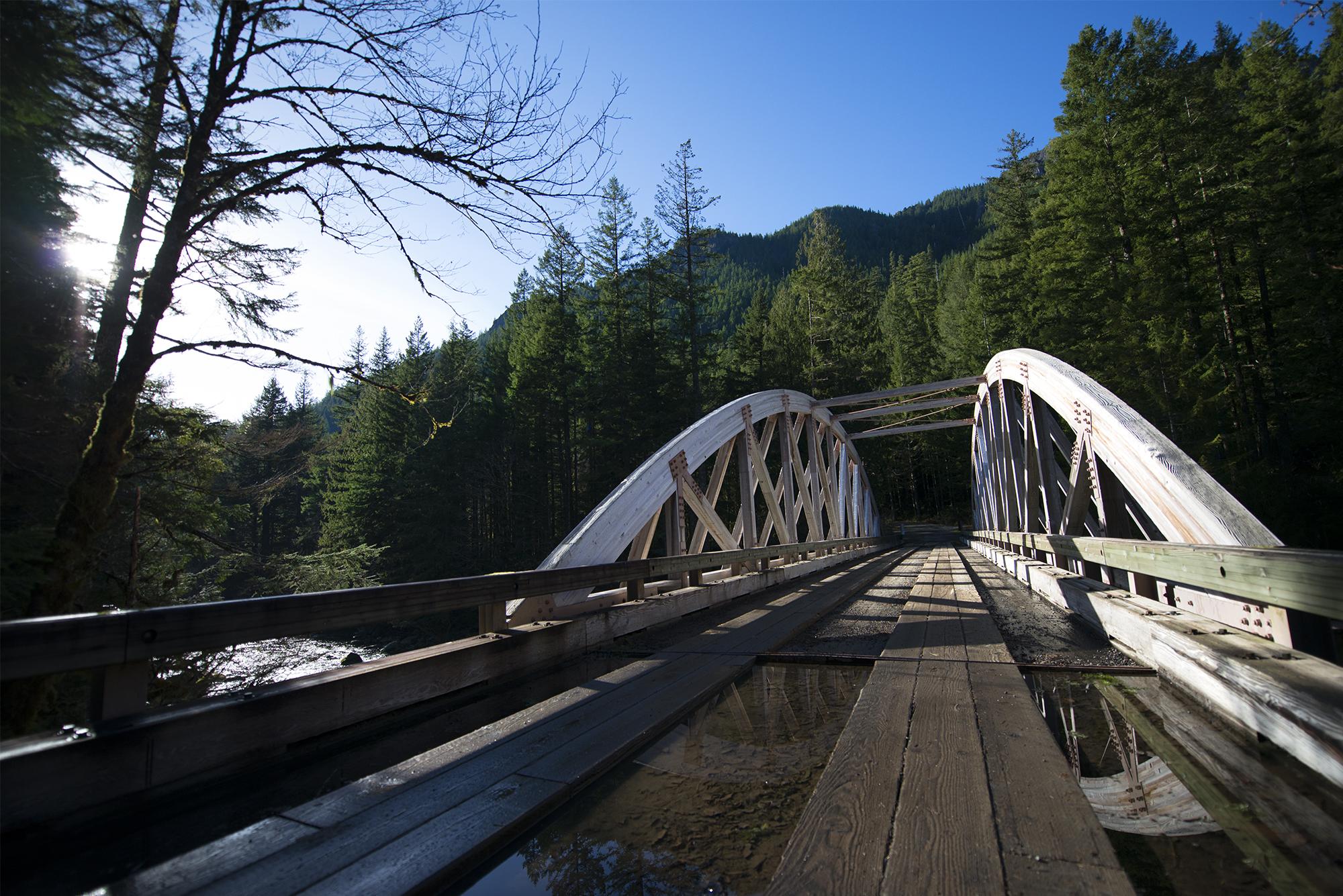 Opal Creek Bridge Reflection.jpg