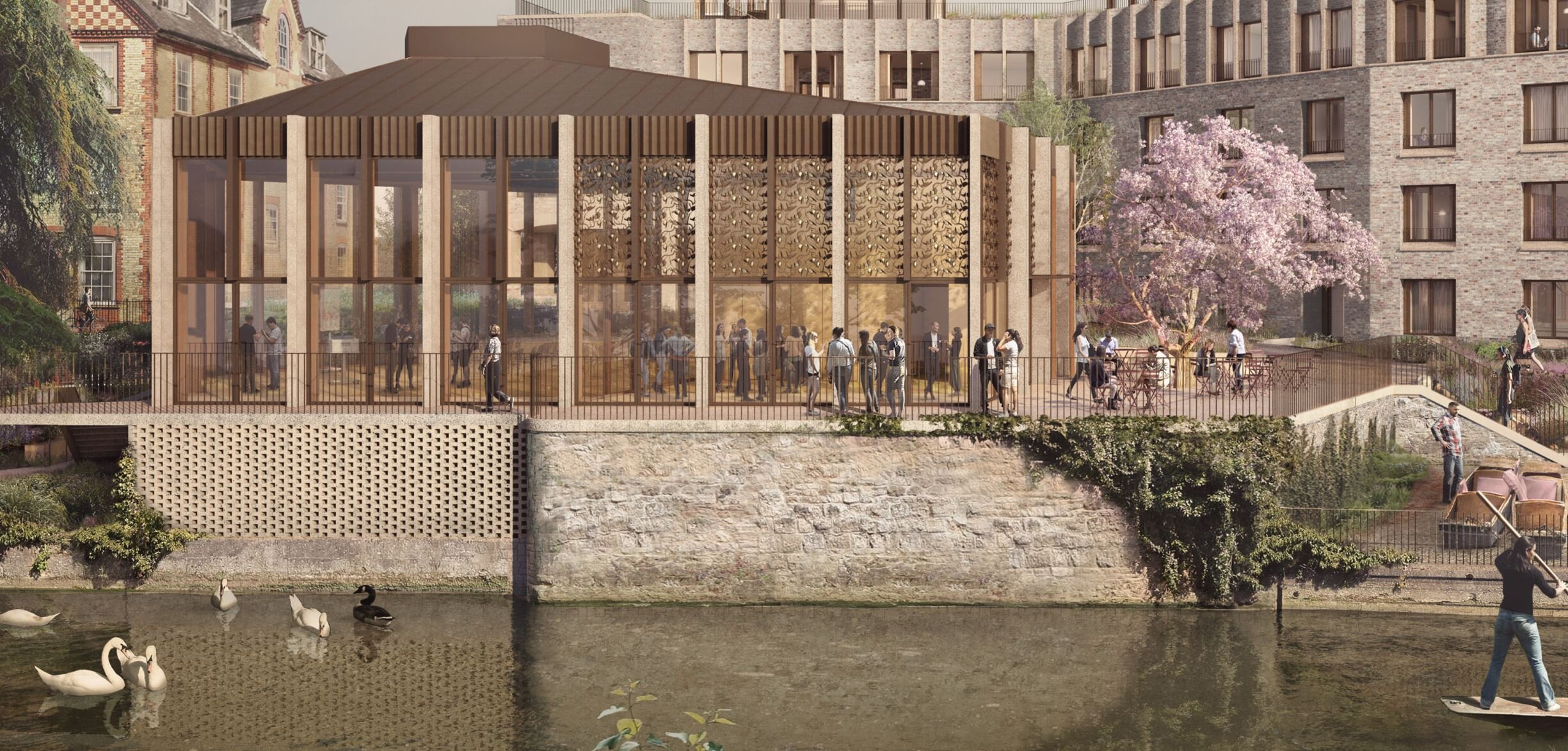 An artist impression of the St Hilda's Front of College development