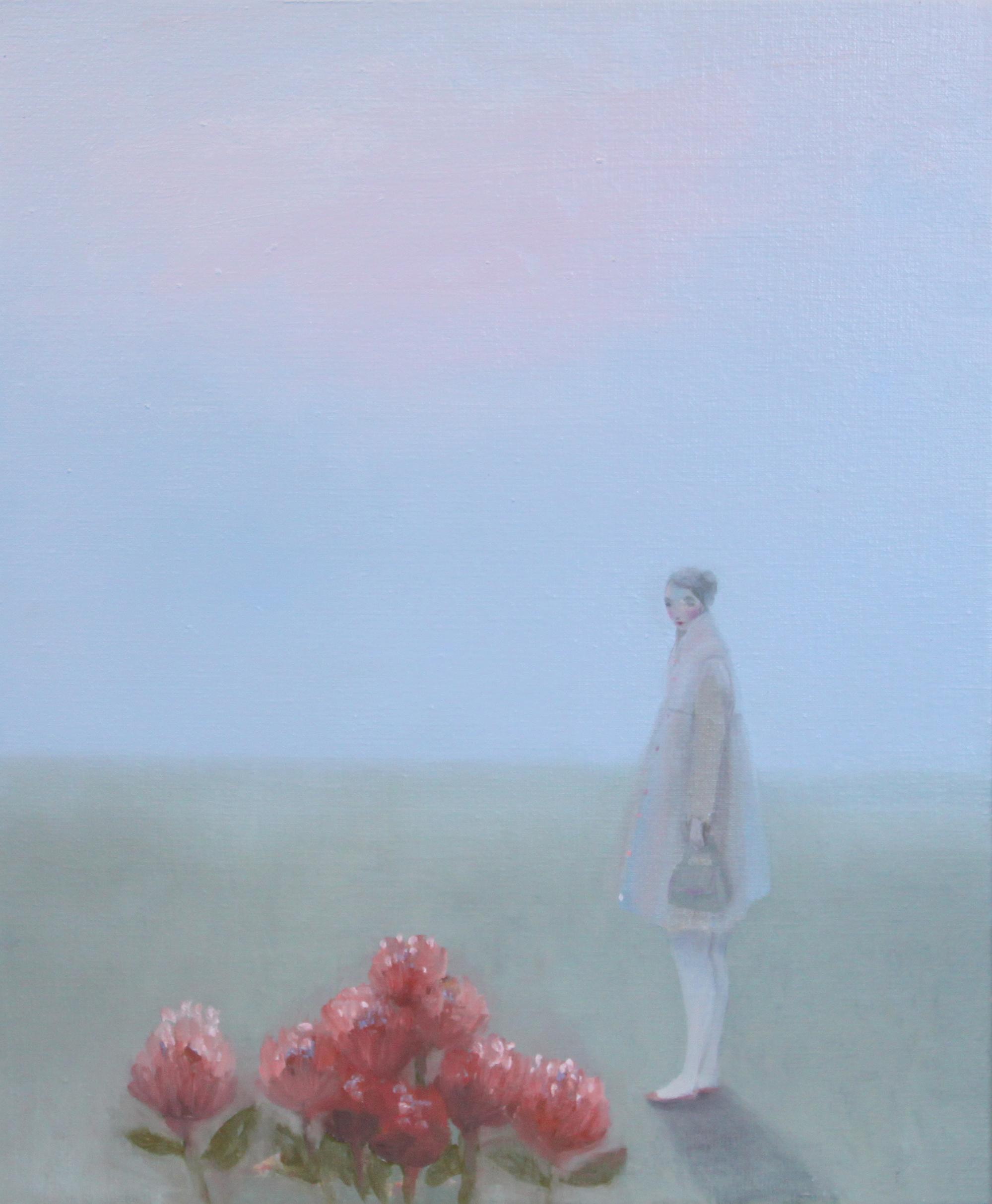 K r i s t i n V e s t g a r d  Autumn Steps 40 x 50 cm oil on canvas £ 2300