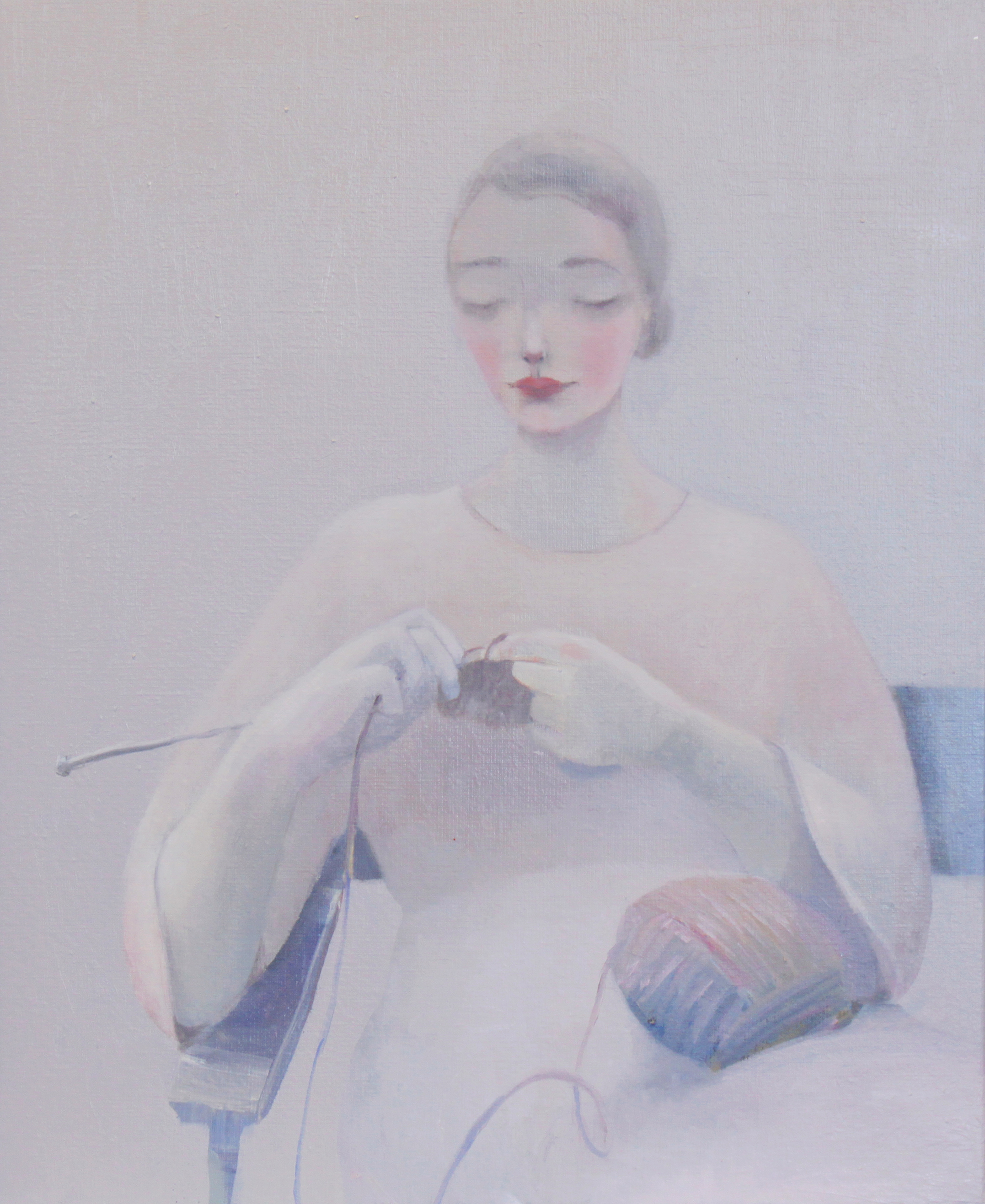 K r i s t i n V e s t g a r d  Days & Nights 40 x 50 cm oil on canvas £ 2300