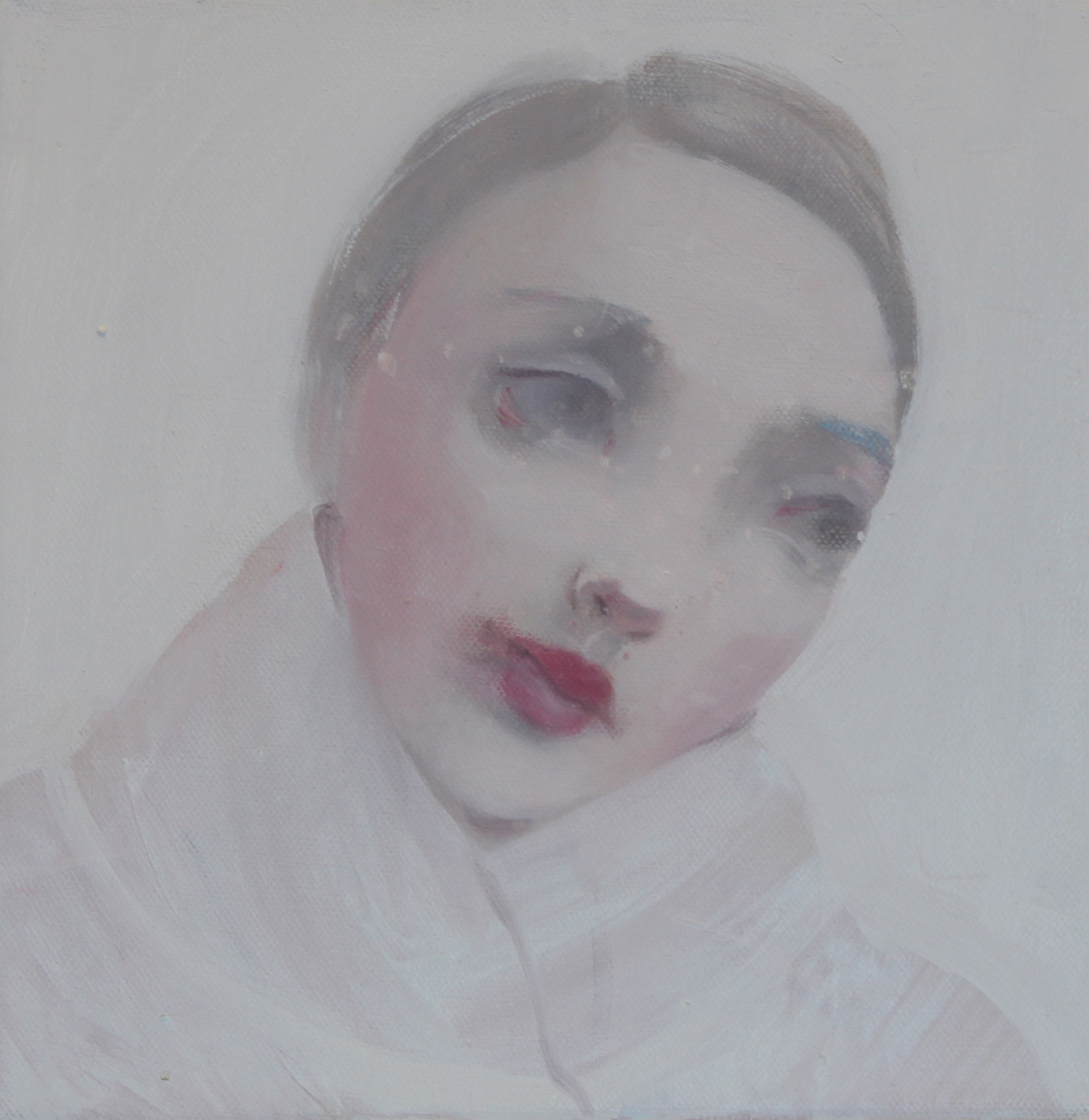 K r i s t i n V e s t g a r d  Through The Day 25 x 25 cm oil on canvas £ 900