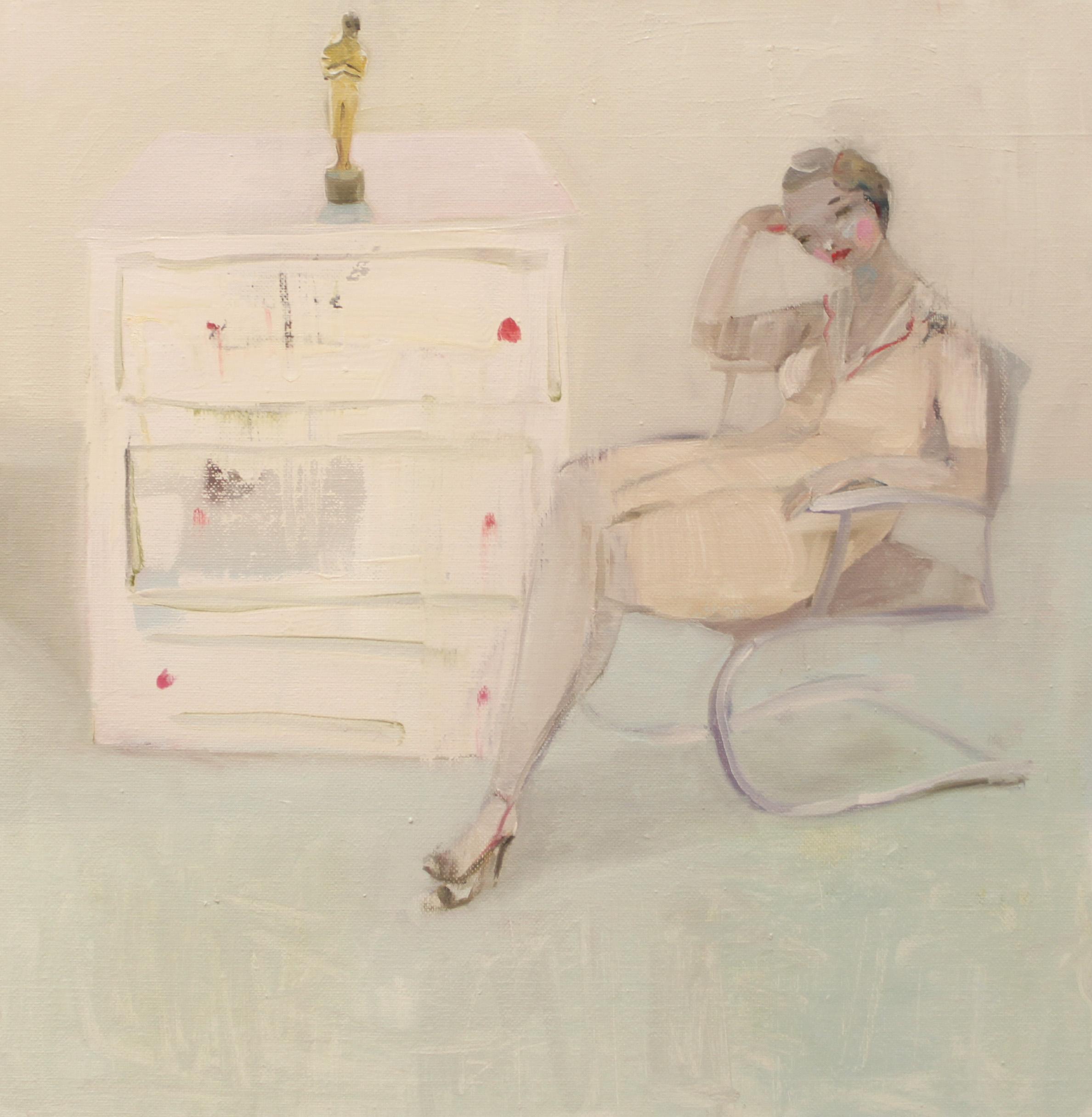 Kristin Vestgard Personal Oscar 40 x 40 cm oil on canvas £ 2100