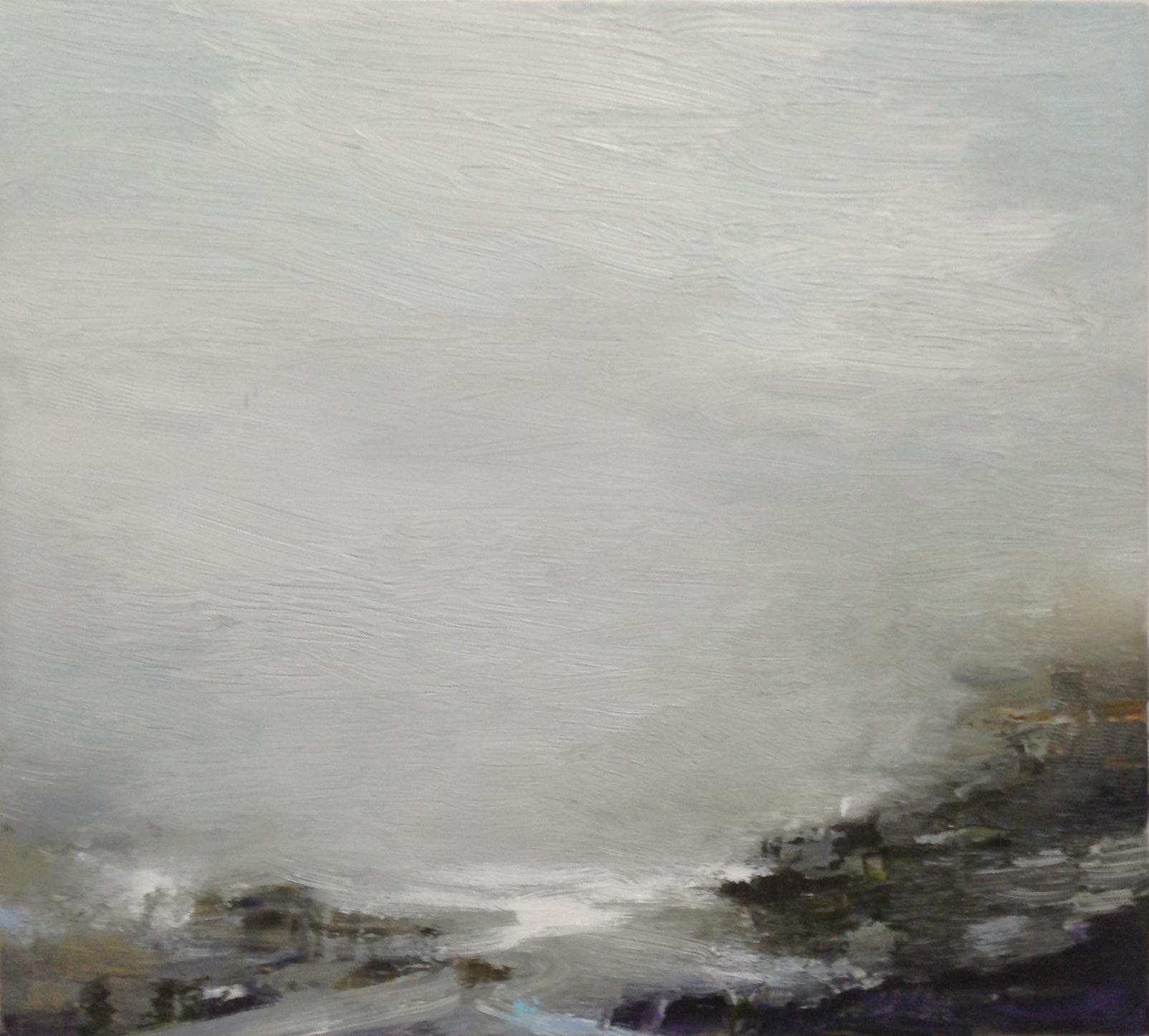 Gareth Edwards RWA Incoming Sea, Granite Cove 50 x 45 cm oil on canvas £1750