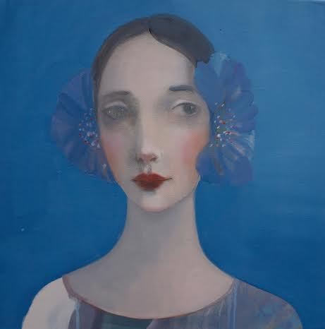 Kristin Vestgard Intuition oil on canvas 50 x 50 cm £ 2500