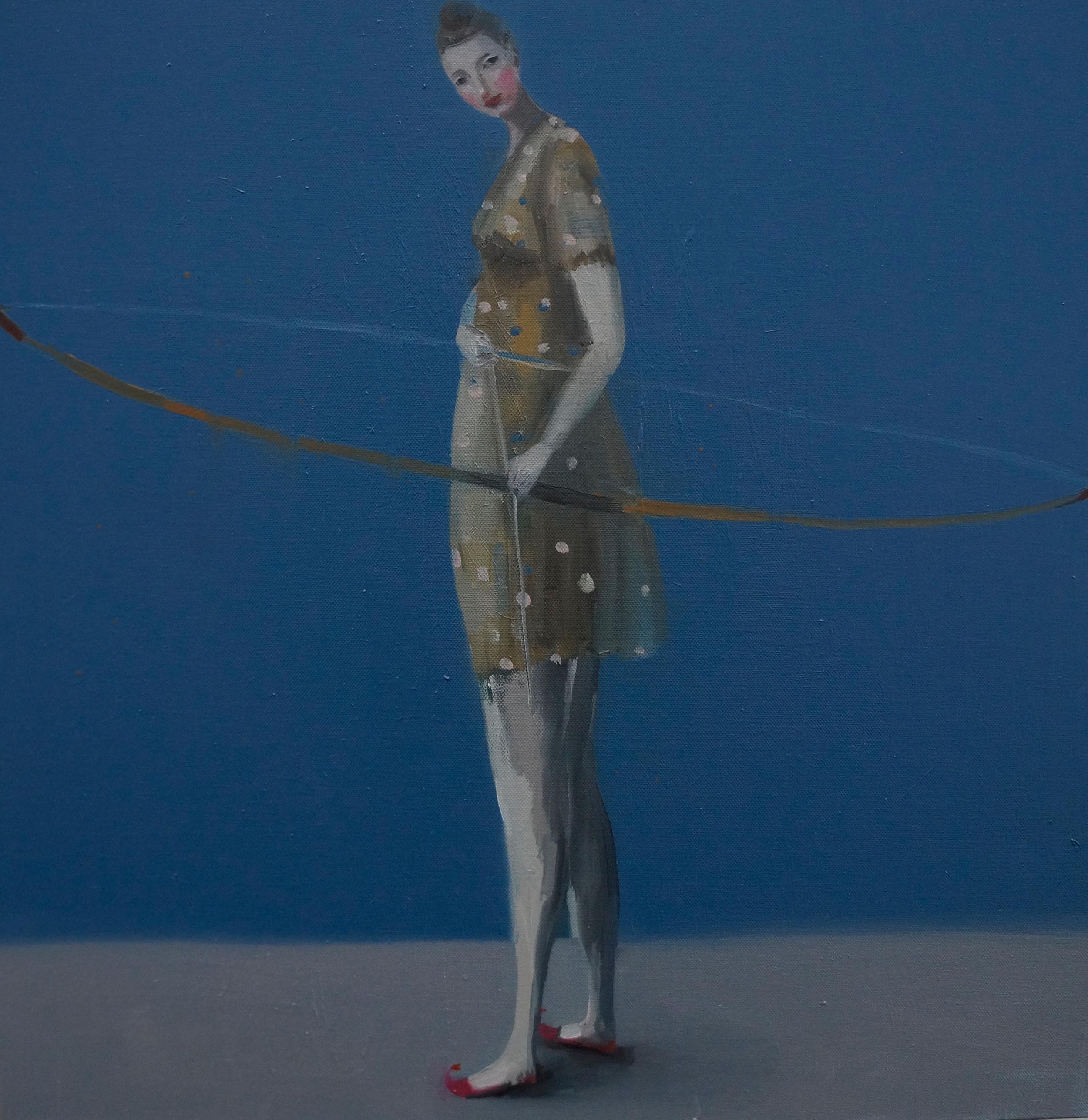 Kristin Vestgard Point of View oil on canvas 60 x 60 cm £ 2850