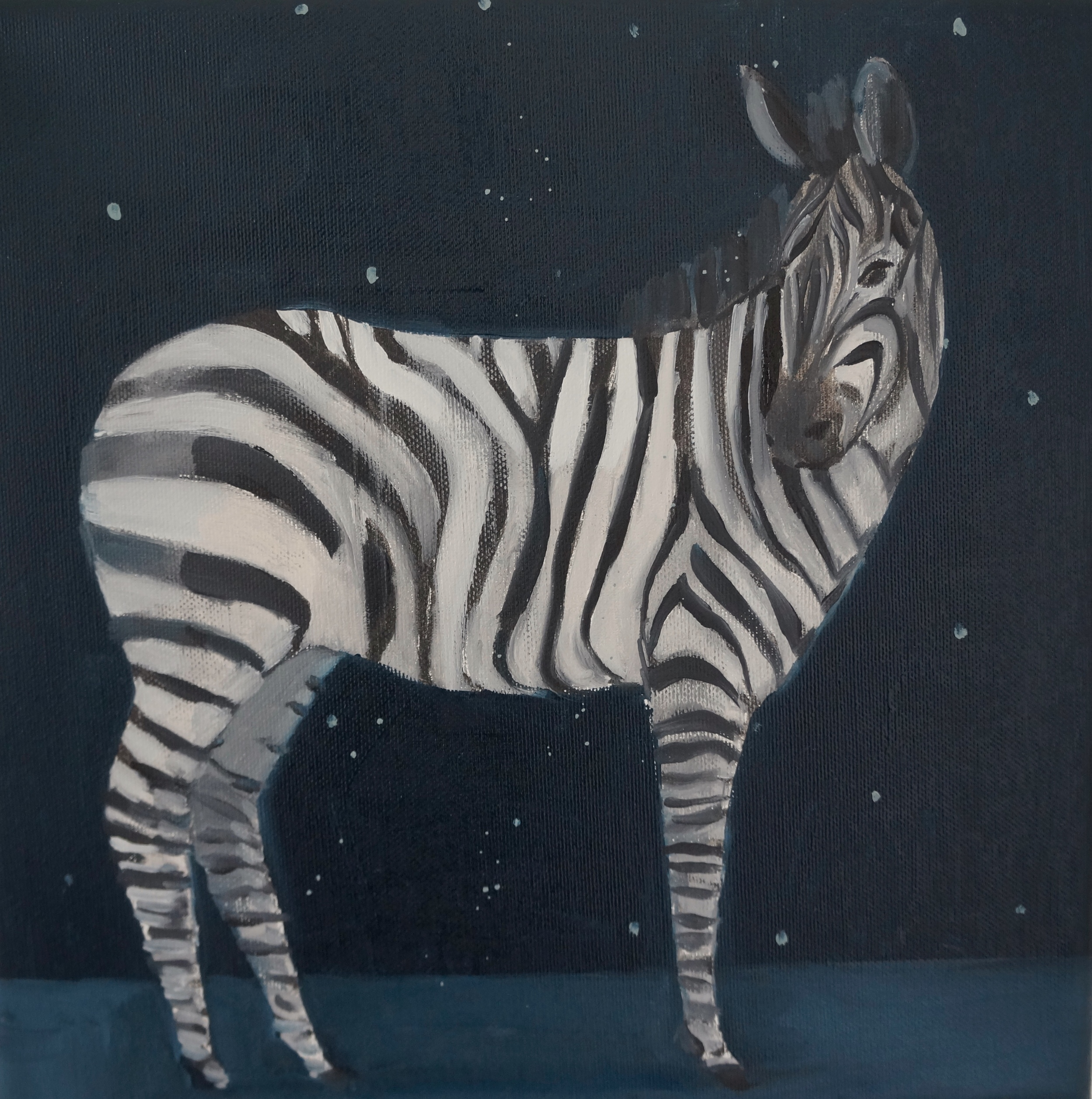 Kristin Vestgard Another day oil on canvas 30x30 £ 1500