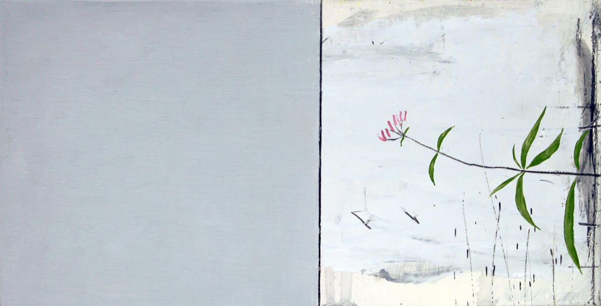 Paul Fry I still see you 15 x 30 cm oil & graphite on wood panel £300