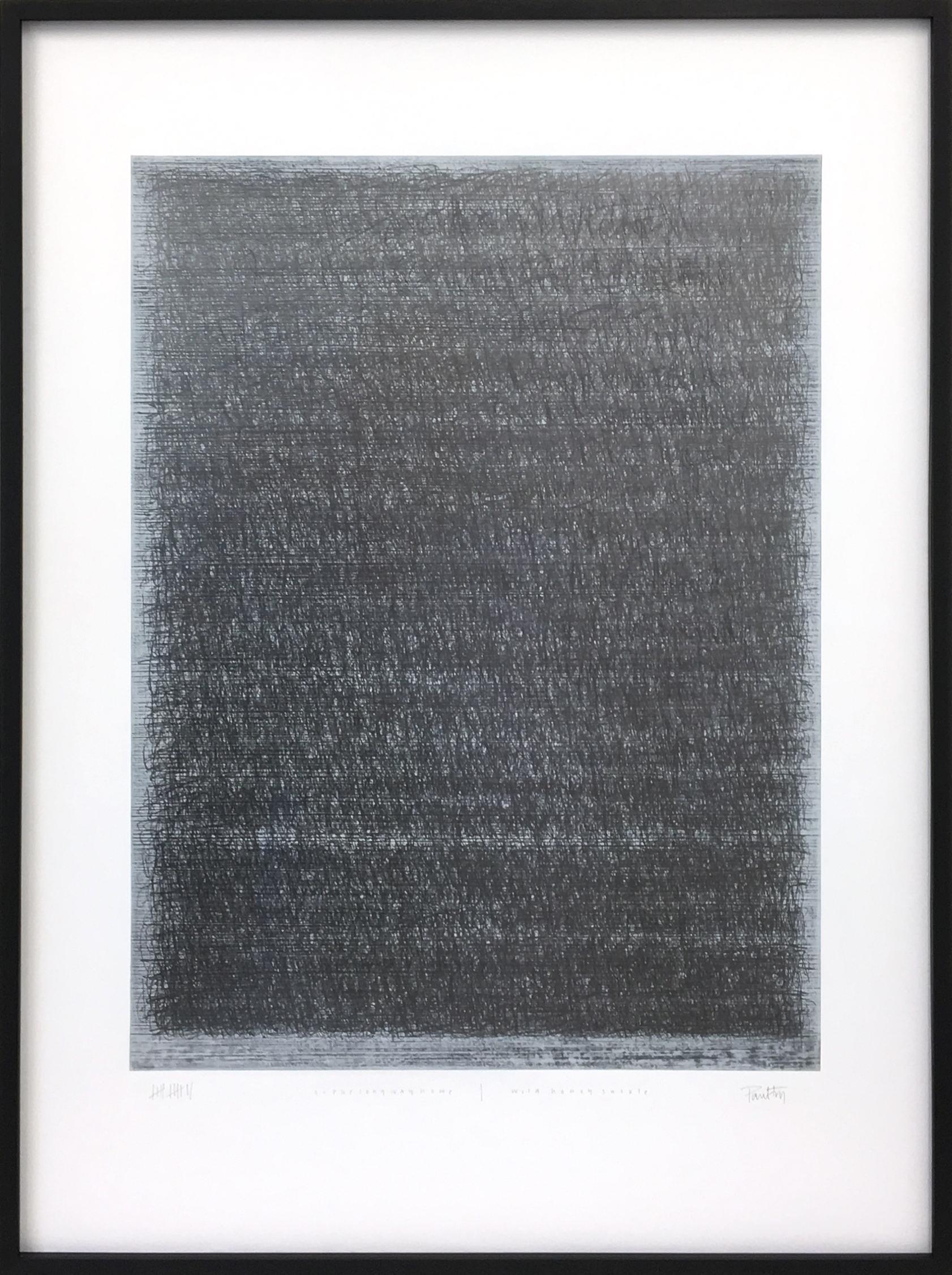 Paul Fry Go the long way home | wild honeysuckle 105 x 137 x 4.5 cm oil, gouache and graphite on canvas S O L D
