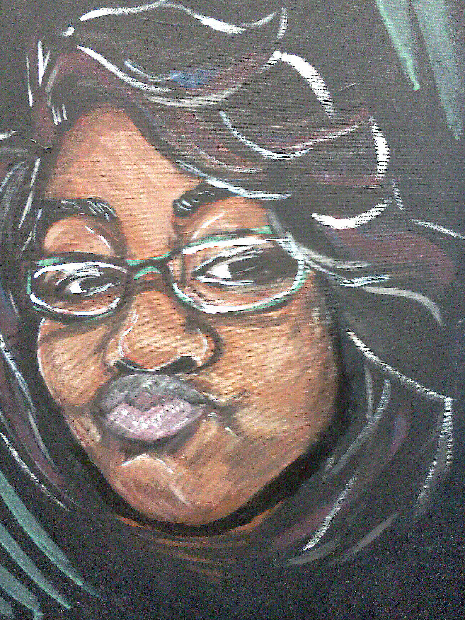 Aldora  2012, acrylic on canvas, 16in x 20in