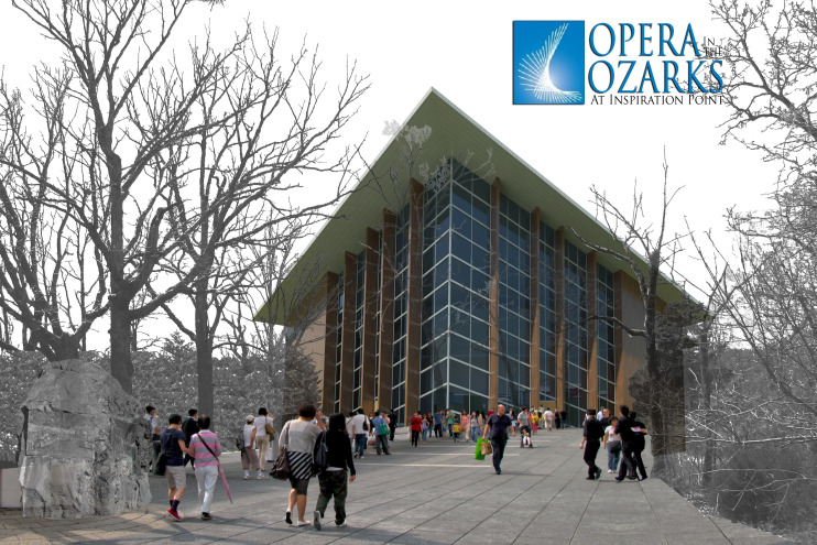Opera in the Ozarks Master Plan and Opera House