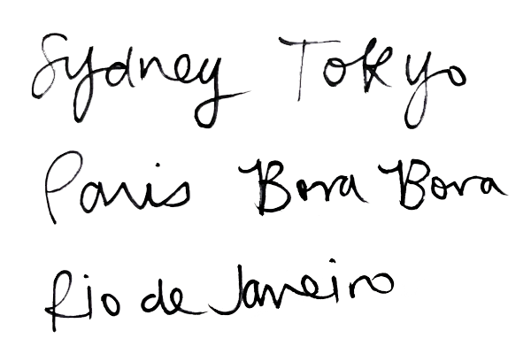 Hand writing - Normal