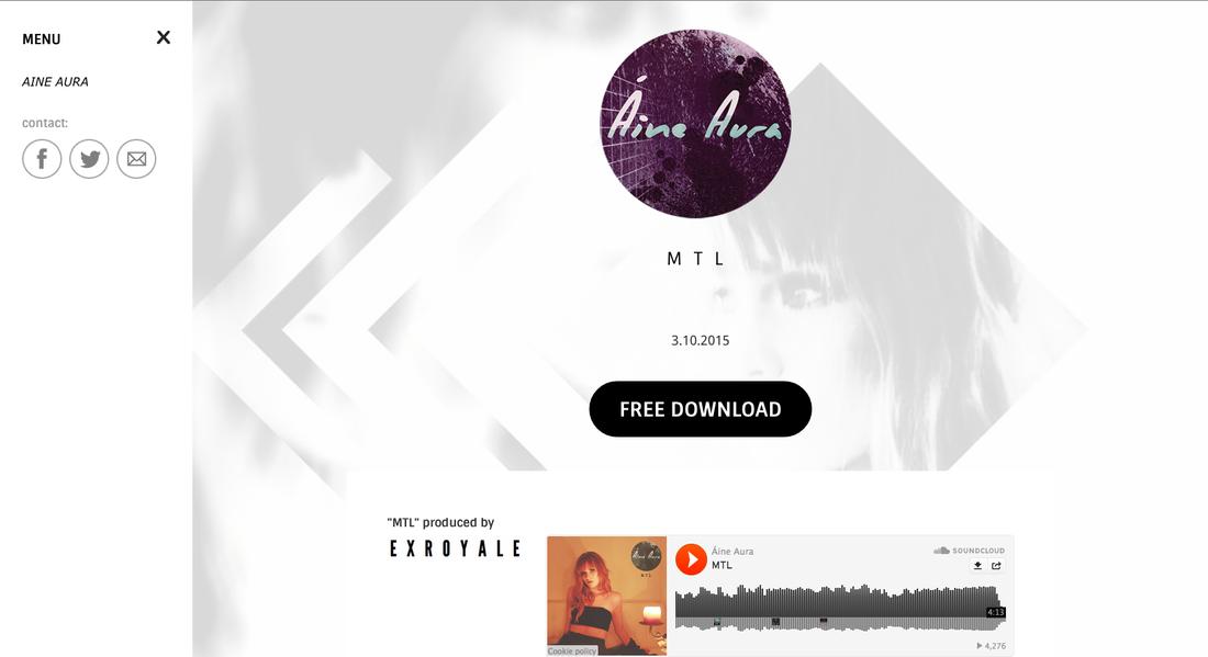 Áine Aura Website